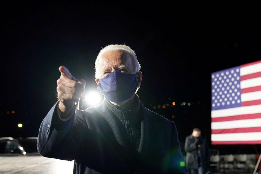 Joe Biden à Pittsburgh, en Pennsylvanie, le 2 novembre 2020.