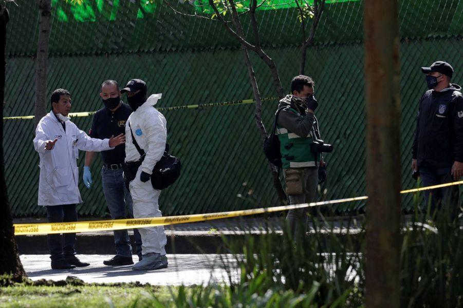 Le chef de la sécurité de Mexico a été visé par une attaque, le 26 juin 2020.