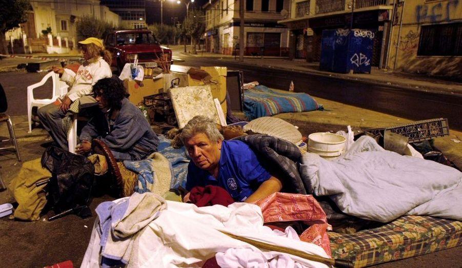 Des milliers de sans-abri