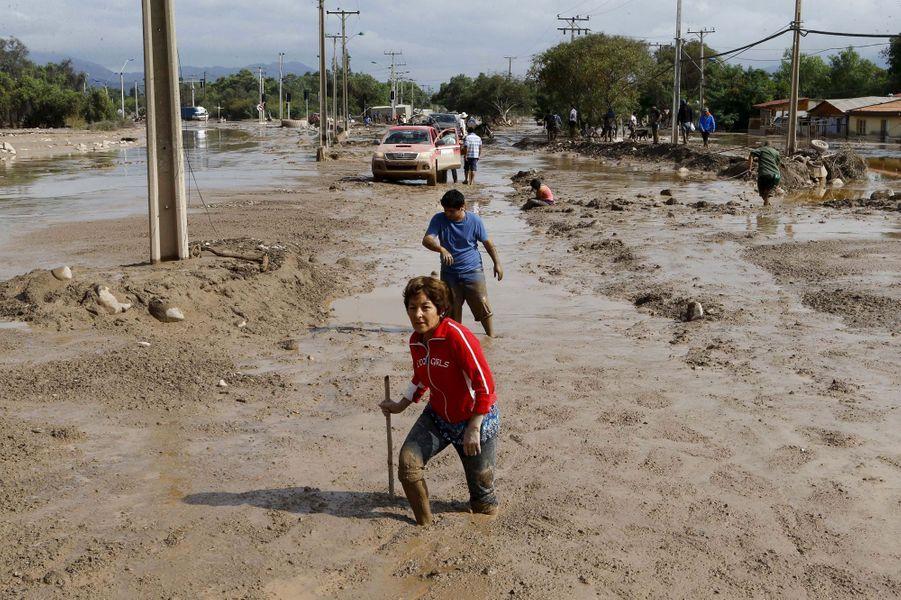 Le Chili sous les eaux