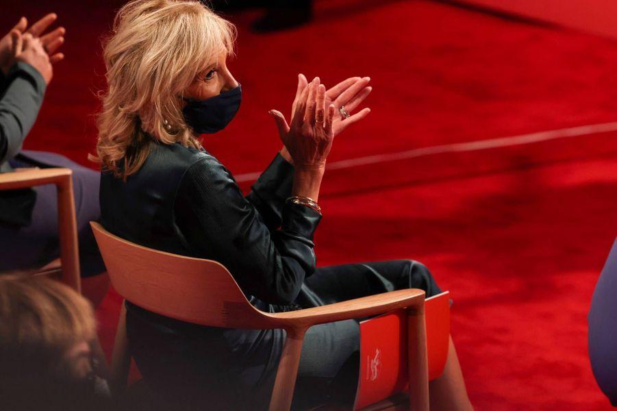 Jill Biden à Cleveland, le 29 septembre 2020.