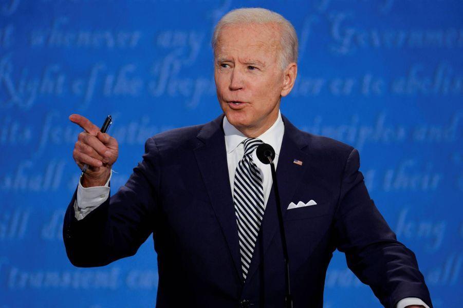 Joe Biden à Cleveland, le 29 septembre 2020.