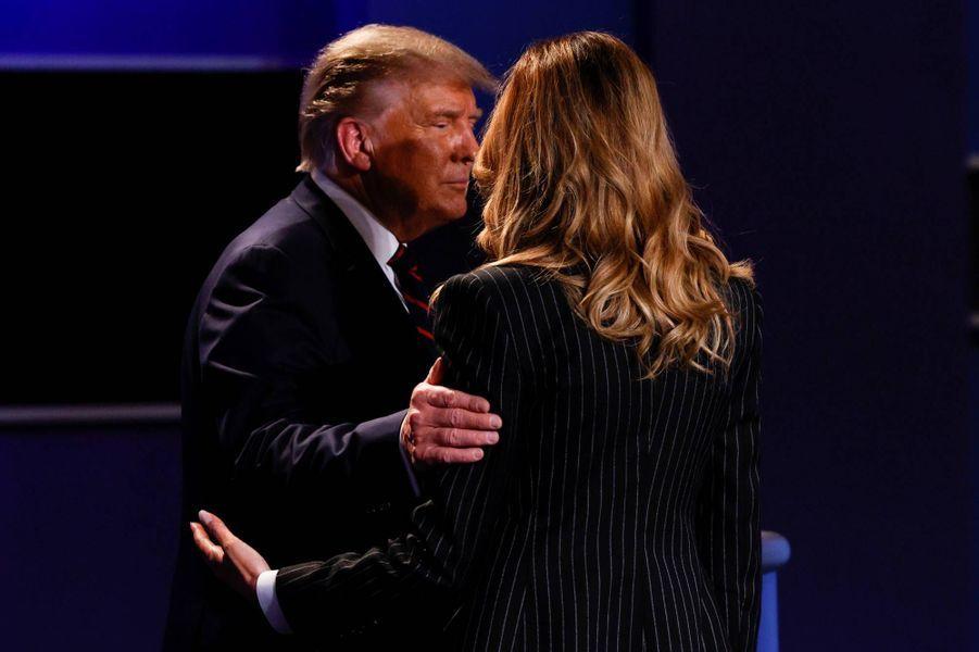 Donald et Melania Trumpà Cleveland, le 29 septembre 2020.