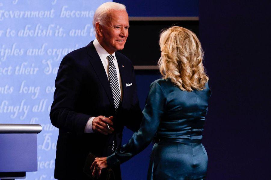Joe et Jill Biden à Cleveland, le 29 septembre 2020.