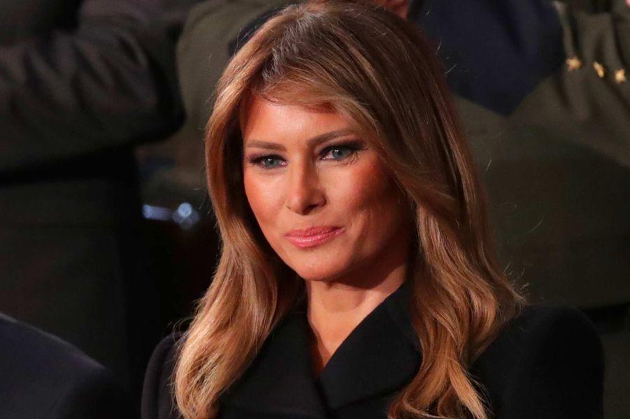 Melania Trumpau Capitole, le 4 février 2020.