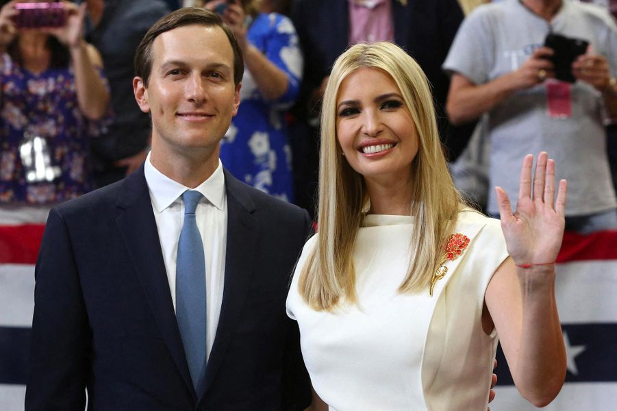 Jared Kushner et Ivanka Trumplors d'un meeting à Orlando, en Floride, le 18 juin 2019.