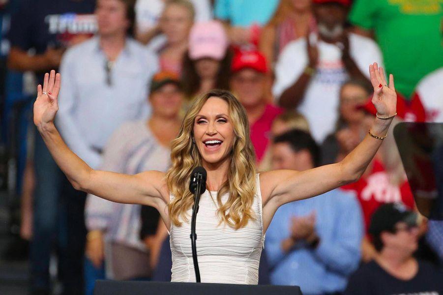 Lara Trumplors d'un meeting à Orlando, en Floride, le 18 juin 2019.
