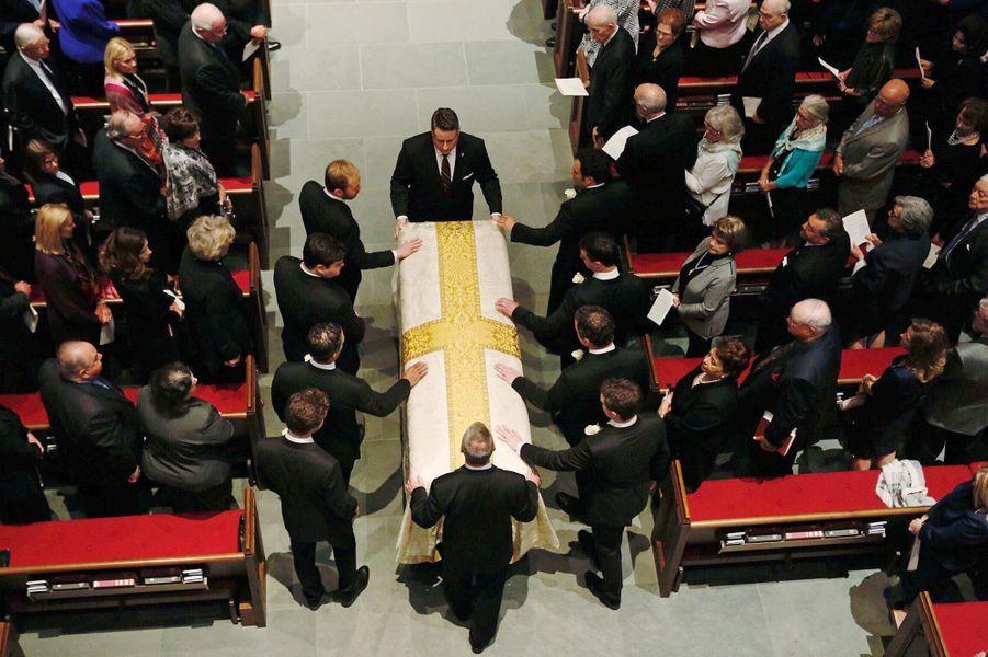 Les funérailles de Barbara Bush