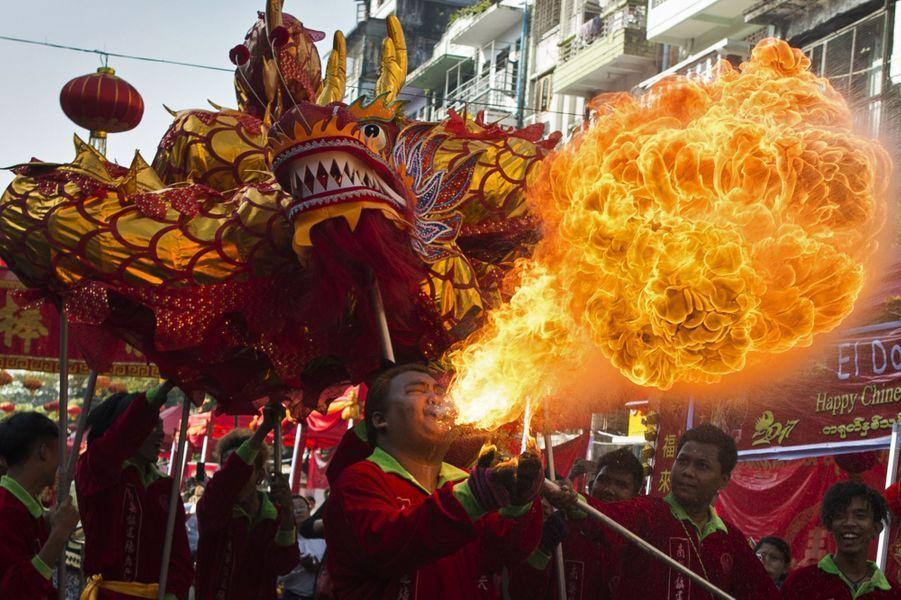 Fête du Nouvel An Chinois en Espagne.