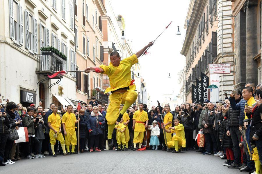 Fête du Nouvel An Chinois en Italie.