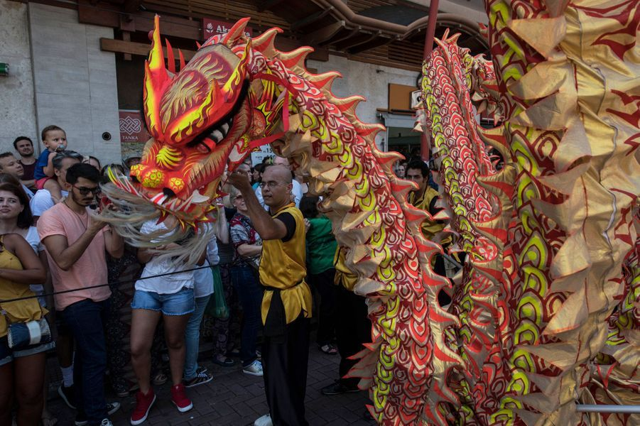 Fête du Nouvel An Chinois au Brésil.