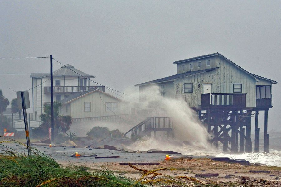 L'ouragan Michael a frappé la Floride.