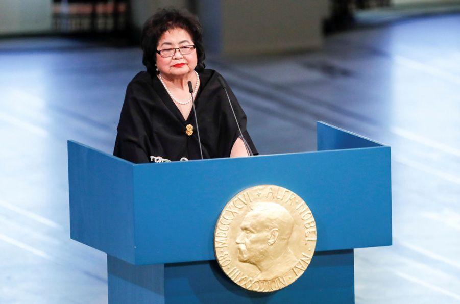 Setsuko Thurlow,rescapée d'Hiroshima