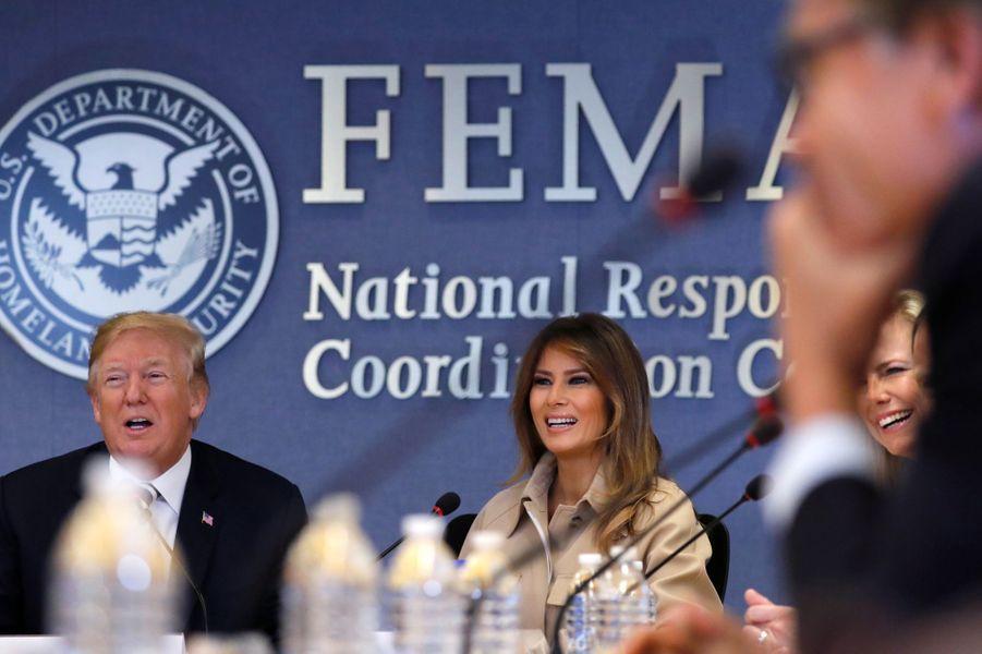 Melania Trump et son mari Donald Trump.