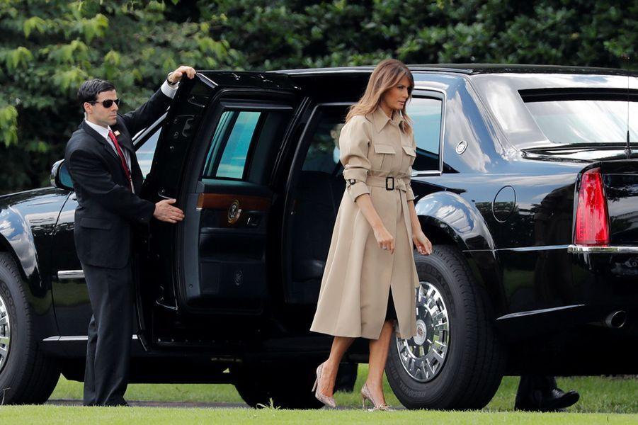 Melania Trump est officiellement de retour.
