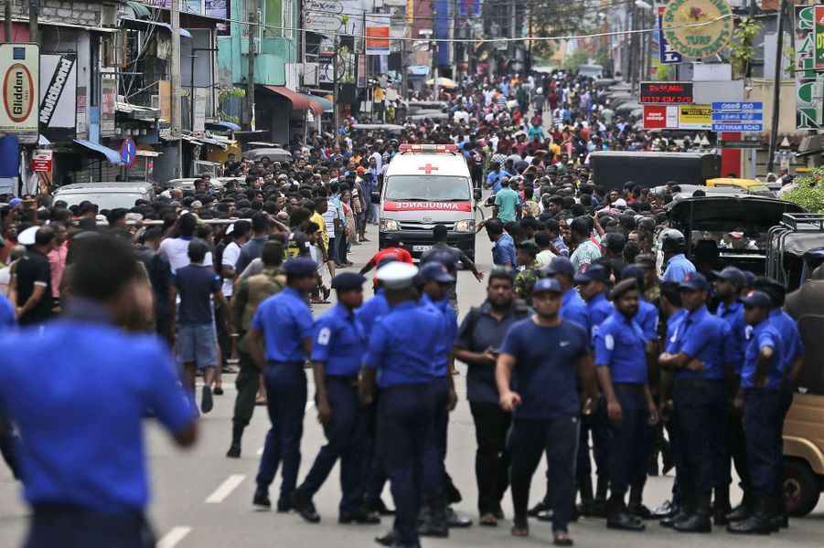 Le Sri Lanka a été visé par de nombreuses explosions dimanche.