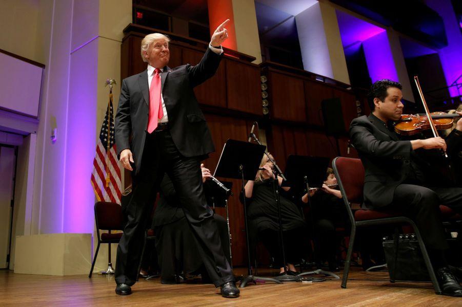 Donald Trump à Washington, le 1er juillet 2017.