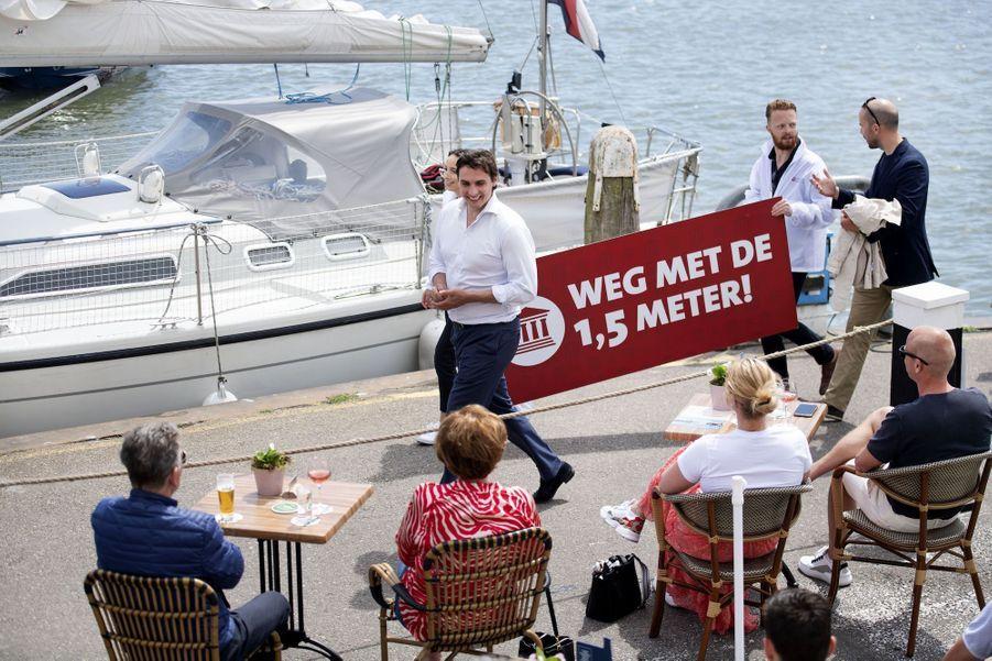 Volendam, le 1er juin 2020 aux Pays-Bas.