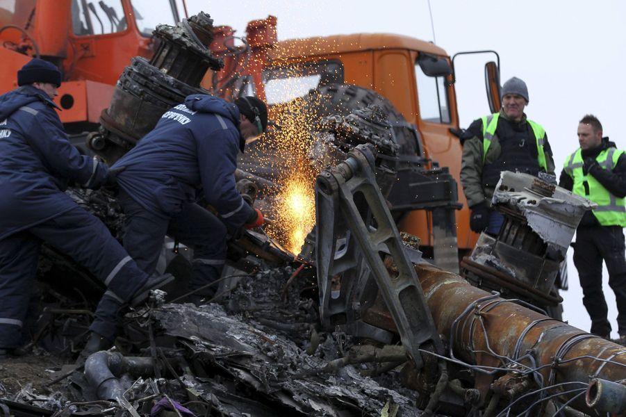 L'évacuation des débris du MH17 ont débuté