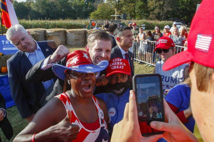 Eric Trump à Monroe, en Caroline du Nord, le 8 octobre 2020.