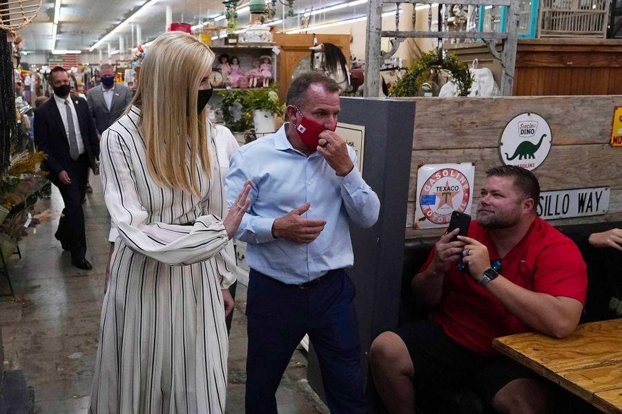 Ivanka Trump à Chandler, dans l'Arizona, le 11 octobre 2020.