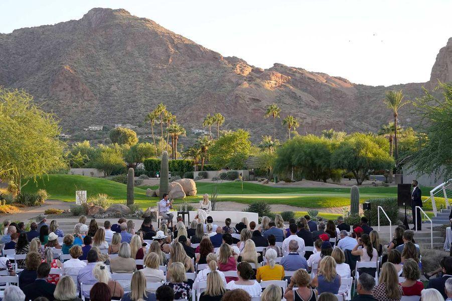 Ivanka Trump à Paradise Valley, dans l'Arizona, le 11 octobre 2020.