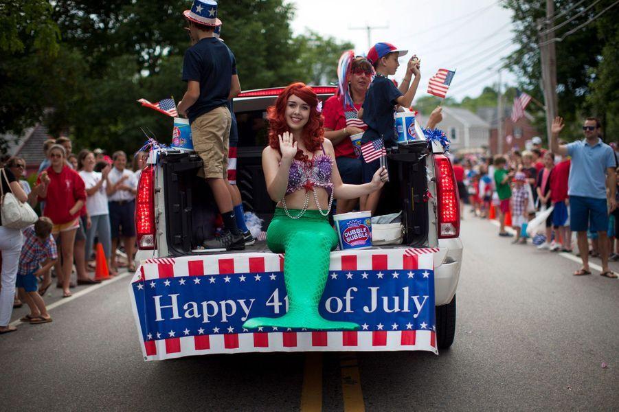 Une parade à Barnstable (Massachusetts)