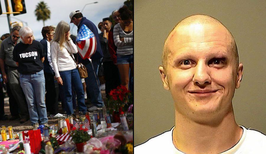 Le 8 janvier 2011, Jared Lee Loughner ouvrait le feu sur une aire de supermarché de Tucson en Arizona, et tirait sur la parlementaire démocrate Gabrielle Giffords qui tenait à ce moment-là une réunion politique. Six personnes étaient mortes sous les balles du tireur, dont une fillette de 9 ans et un juge fédéral. La parlementaire, elle, avait survécu à la fusillade. En novembre dernier, l'homme a finalement été condamné à la prison à vie.