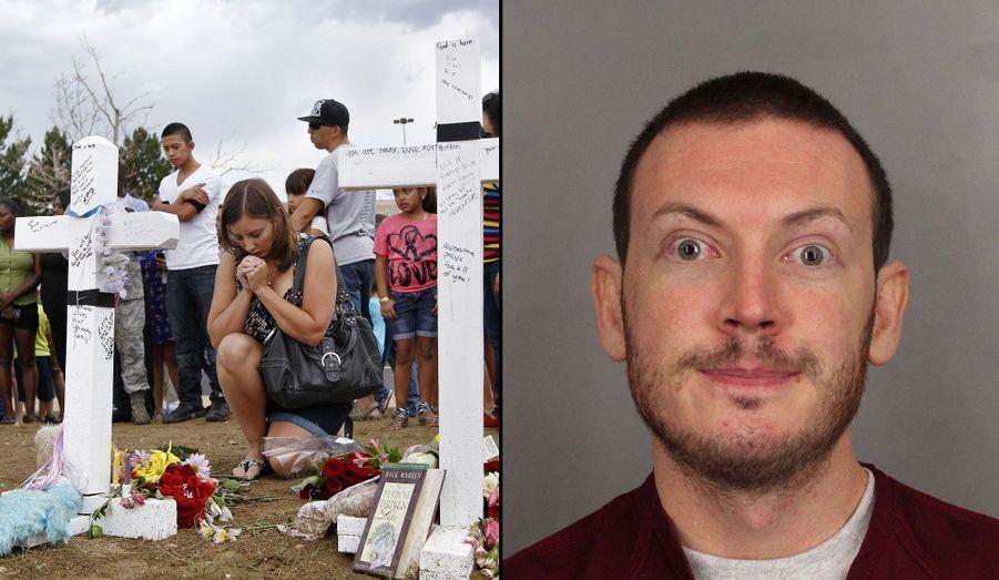 """Le 20 juillet 2012, James Holmes entrait dans un cinéma d'Aurora dans le Colorado et tirait sur la foule. Au total, 12 personnes sont mortes et une cinquantaine d'autres blessées. Âgé de 25 ans, le tireur a été arrêté et emprisonné. Depuis, celui qui était fasciné par le Joker dans """"Batman"""" s'est muré dans le silence. Letueur d'Aurora a été condamné à 3318 ans de prison plus six peine de perpétuité."""