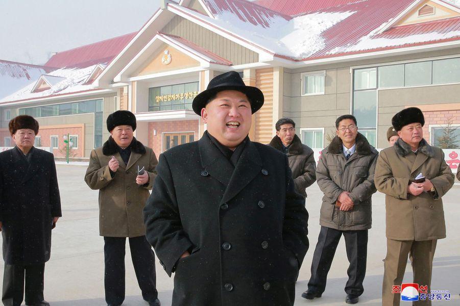 Le dictateur nord-coréen Kim Jong-un.