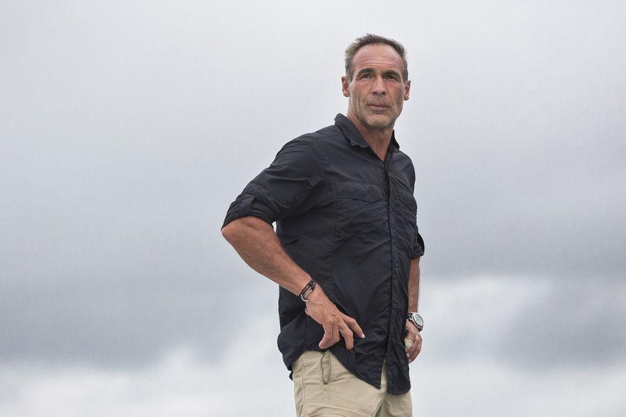 L'aventurier sud-africain et suisse Mike Horn.