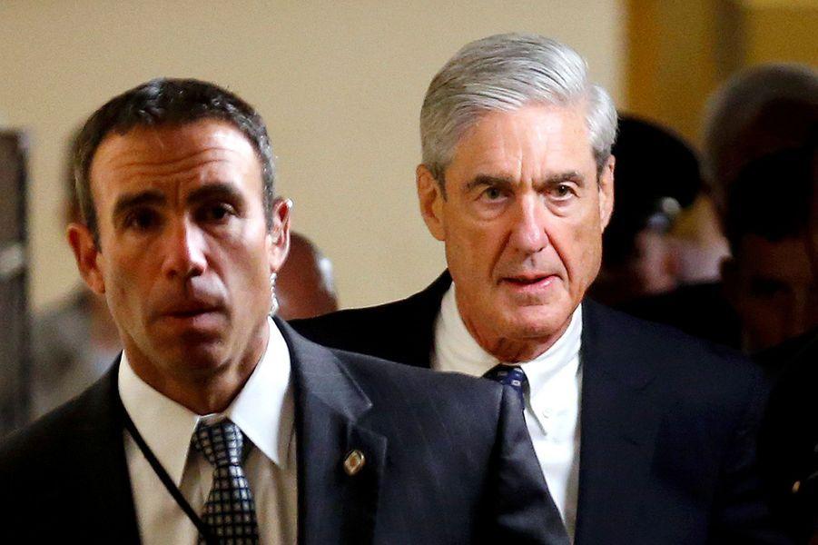 Robert Mueller, le procureur spécial chargé d'enquêter sur l'attaque de la Russie contre les élections présidentielles américaines de 2016.