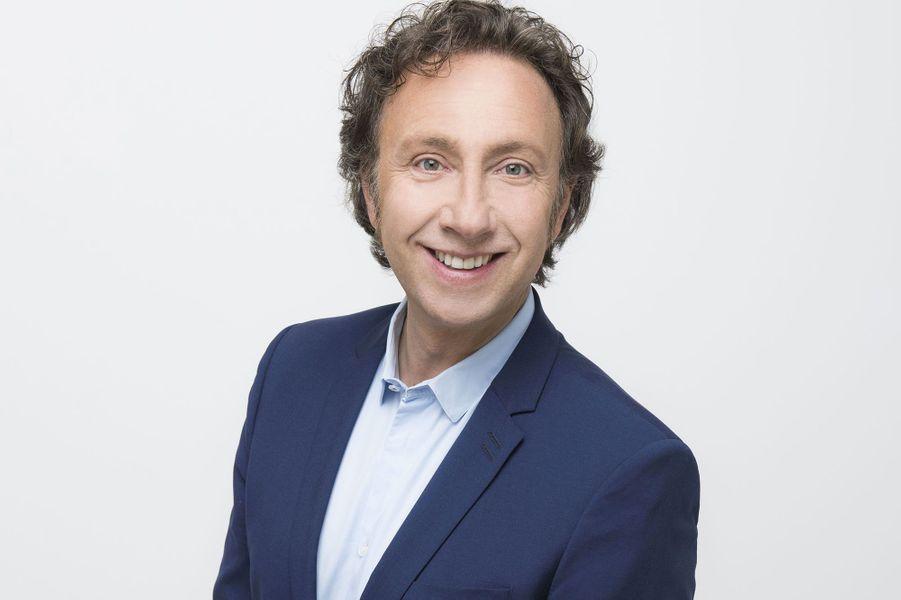 Le présentateur français Stéphane Bern.
