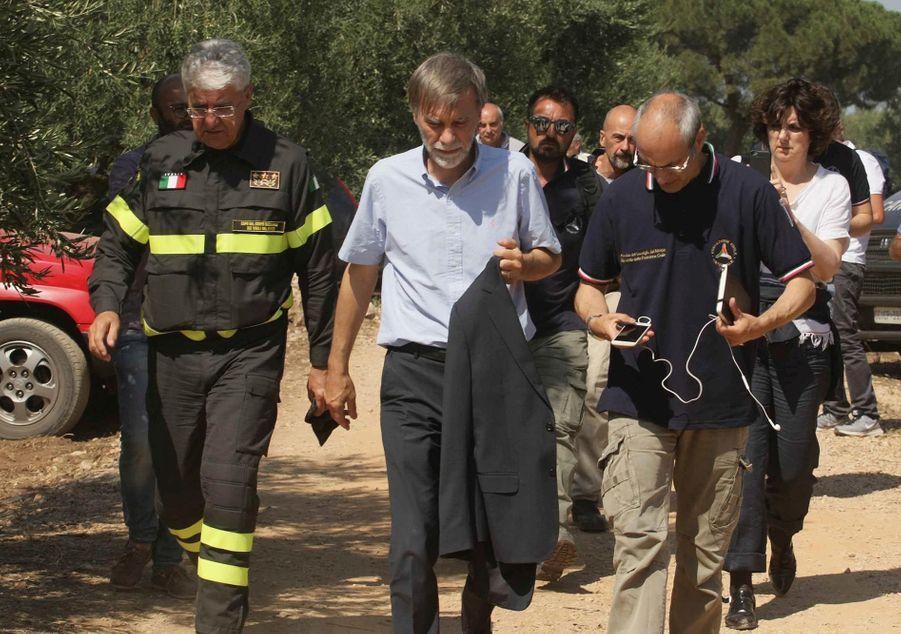 Le ministre italien des Transports Graziano Delrio