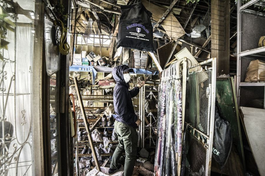 Le photographe malaisien Keow Wee Loong a réussi à pénétrer au sein de la zone rouge de Fukushima.