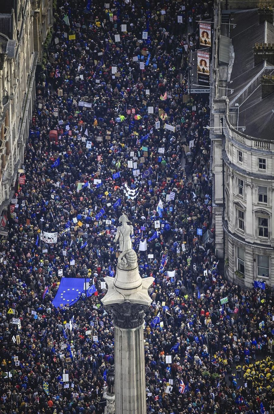 Manifestation anti-Brexit à Londres, le 23 mars 2019.