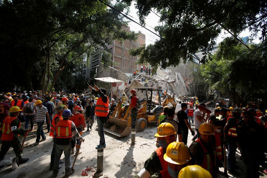 Le Mexique meurtri par un séisme.