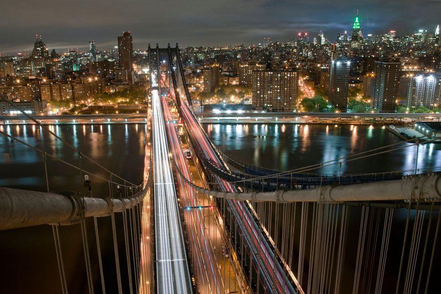 Le Manhattan Bridge, à New York