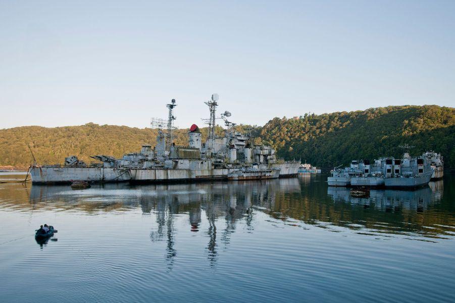 Les docks de Brest, en France