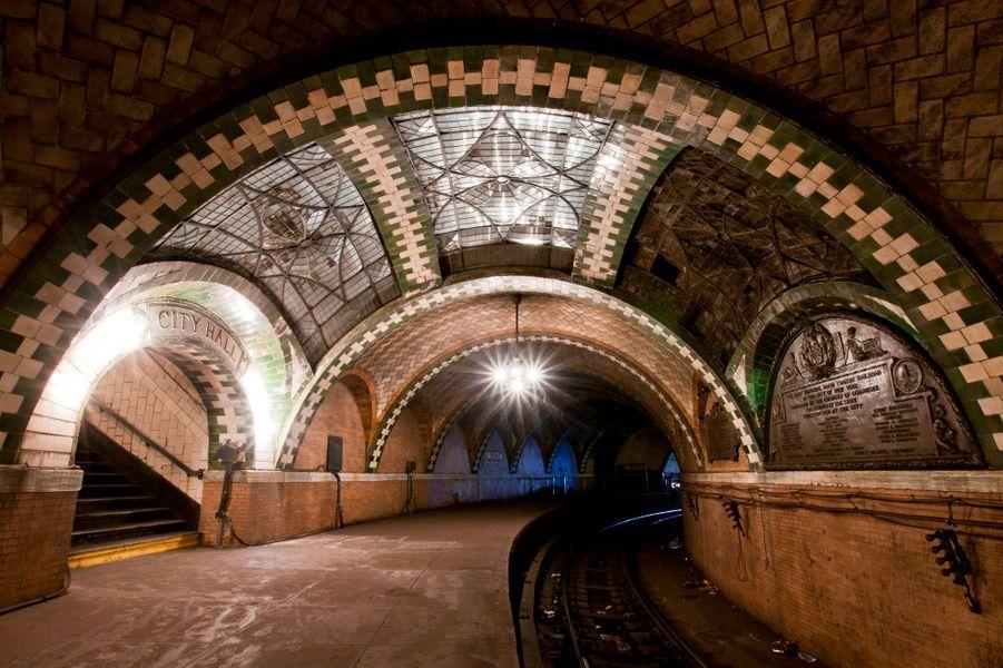 Une station de métro désaffectée, à New York