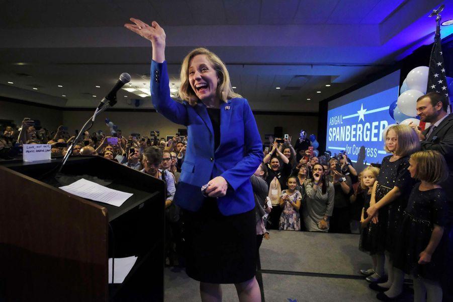 Abigail Spanberger a été élue dans le7ème district congressionnel de Virginie.