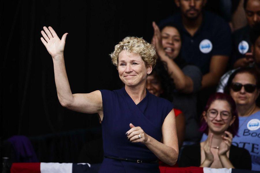 Chrissy Houlahan a été élue dans le6ème district congressionnel de Pennsylvanie.