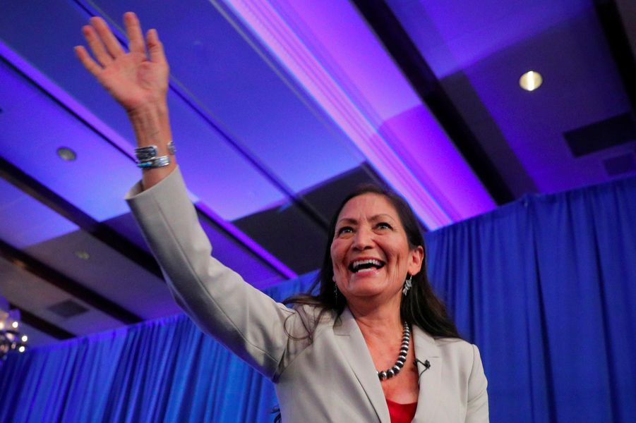 Deb Haaland a été élue dans le 1er district congressionnel du Nouveau-Mexique.