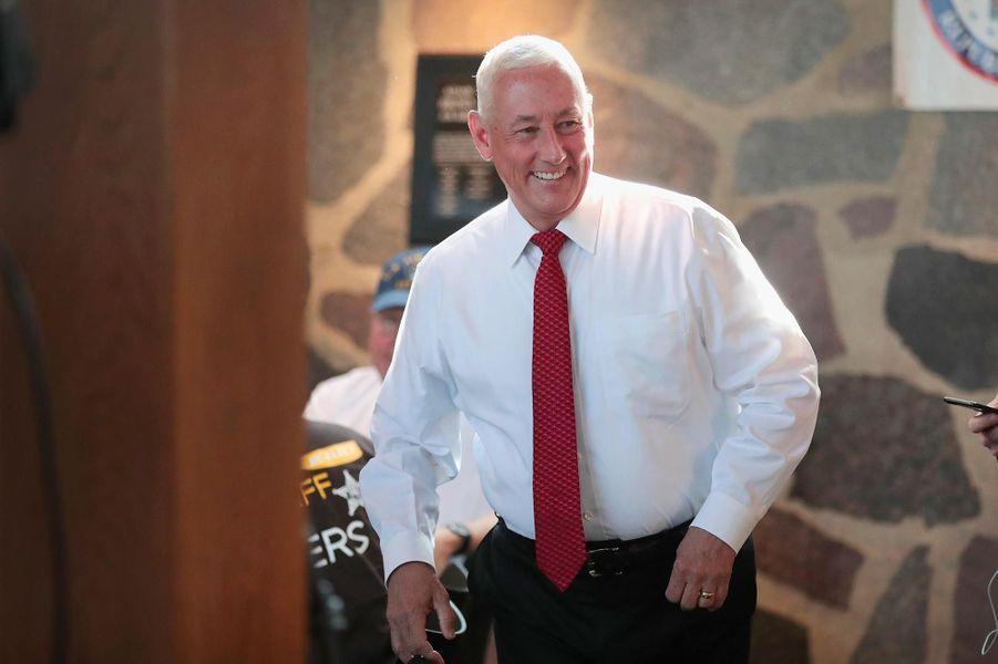 Greg Pence, le frère du vice-président Mike Pence, a été élu dans le6ème district congressionnel de l'Indiana.