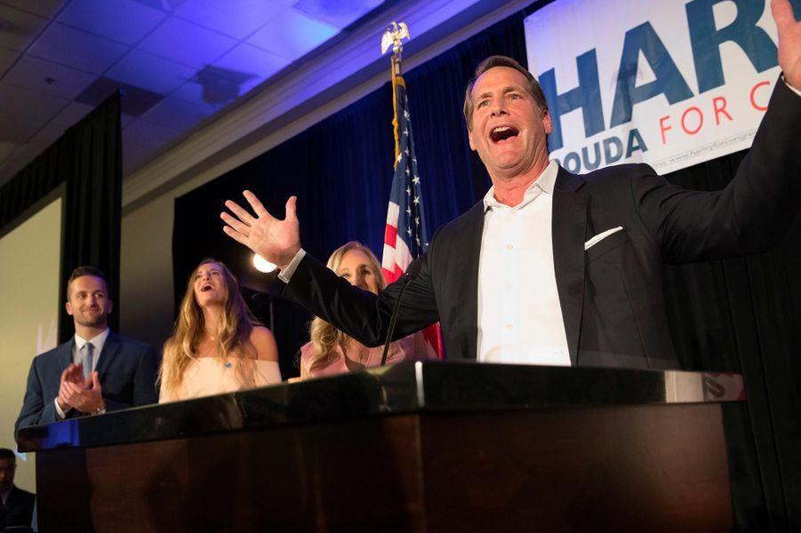 Harley Rouda a été élu dans le48ème district congressionnel de Californie.