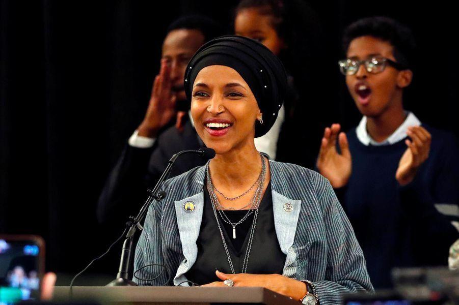 Ilhan Omar a été élue dans le5ème districtcongressionnel du Minnesota.