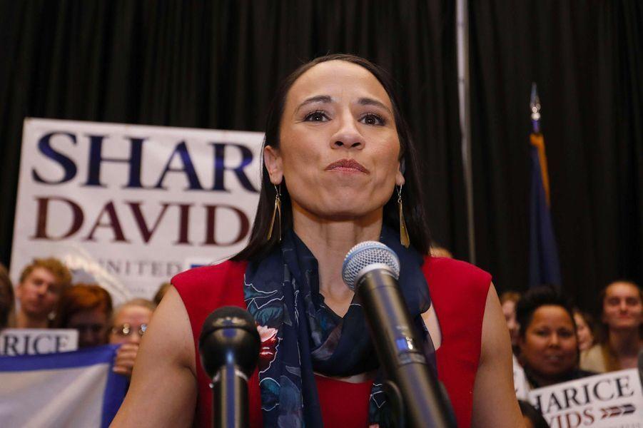 Sharice Davids a été élue dans le3ème district congressionnel du Kansas.