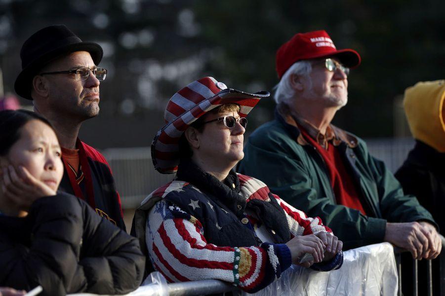 Les partisans de Donald Trump sont à Washington, à quelques heures de son investiture.