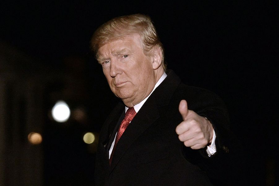 Donald Trump à la Maison Blanche, le 15 mars 2017.