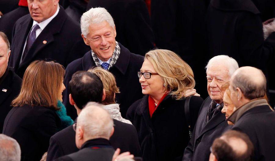 L'arrivée des Clinton